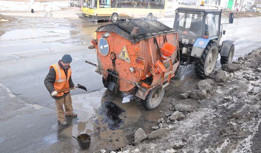 Какие дороги будут чинить в Ижевске в воскресенье, 14 апреля?