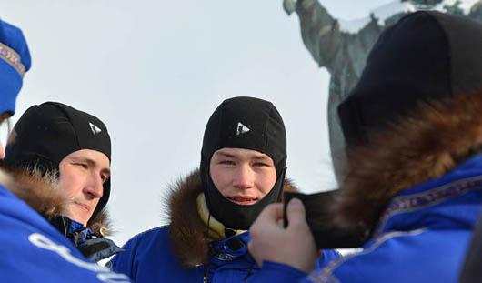 Ижевчанин установил флаг Удмуртии на Северном полюсе