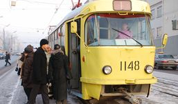 Дурацкий вопрос: как часто моют ижевские трамваи?