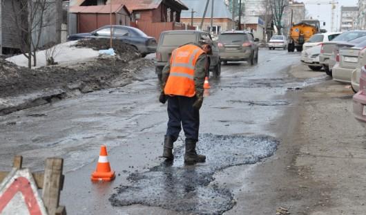 Какие дороги залатают в Ижевске во вторник, 16 апреля