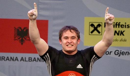 Тяжелоатлет из Удмуртии стал обладателем золотой медали чемпионата Европы