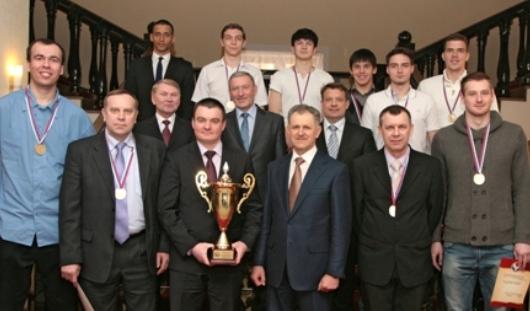 Ижевская баскетбольная команда «Родники» стала чемпионом России