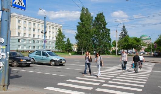 1 мая в центре Ижевска перекроют движение транспорта