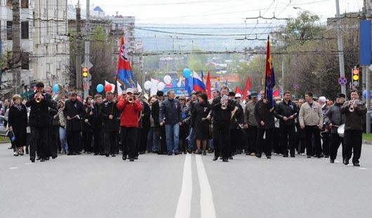 Где в Ижевске перекроют движение 1 мая