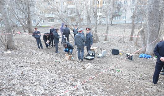 В Ижевске на улице Пушкинской обнаружили странный пакет