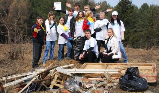 На субботниках в Ижевске опробуют раздельный сбор мусора