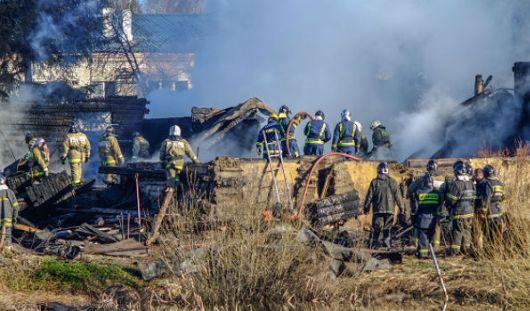 Почти 40 человек погибло при пожаре в психбольнице в Московской области