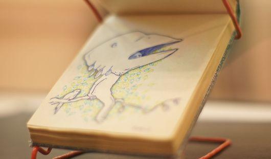Выставка картин из блокнота проходит в Ижевске