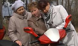 В Ивановской области фельдшеры пересели на скутеры