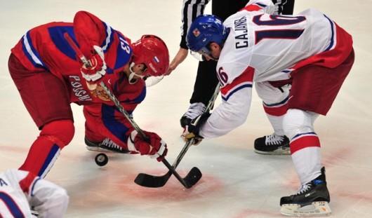 Сборная России по хоккею на чемпионате мира сразится с США и Финляндией