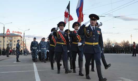 В Ижевске прошла первая репетиция парада Победы