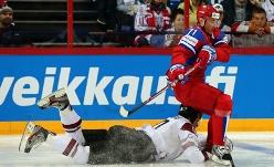 Сборная России разгромила хоккеистов из Латвии со счётом 6:0
