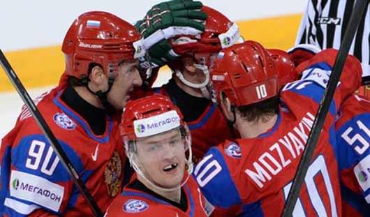 Хоккеисты сборной России выиграли у американцев со счётом 5:3