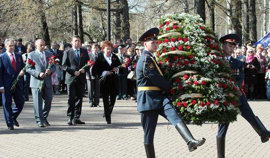 Как в Ижевске отметили День Победы