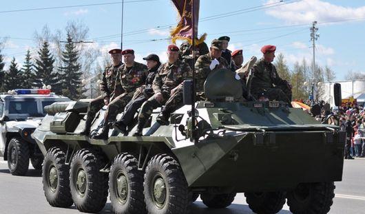В Ижевске состоялся парад Победы