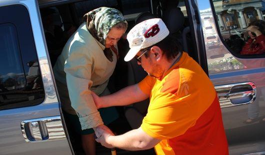 В День Победы в Ижевске прошла акция «Транспорт ветерана»