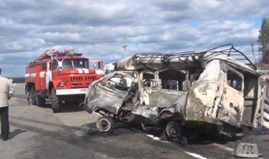 5 человек погибли в ДТП в Удмуртии