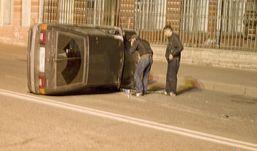 Три машины опрокинулись в Удмуртии