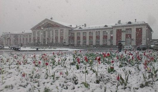 В Сибирь вернулась зима