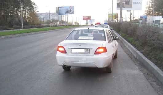 В Ижевске под колесами иномарки погиб пешеход
