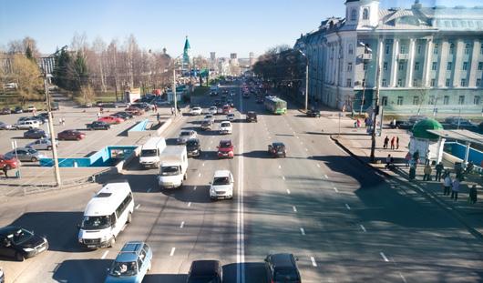 На Удмуртской в Ижевске перенесут место для разворота