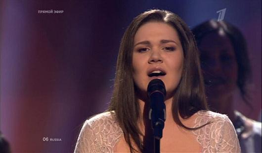 Россиянка заняла 5 место на «Евровидении»