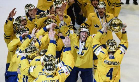 Шведские хоккеисты стали чемпионами мира