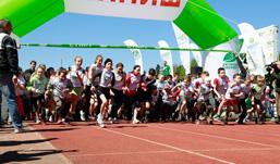 «Зеленый марафон» Сбербанка: 42 города страны стали частью Олимпийского движения