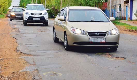 Дорожники ответят: ижевские автомобилисты оценивают качество гарантийных дорог