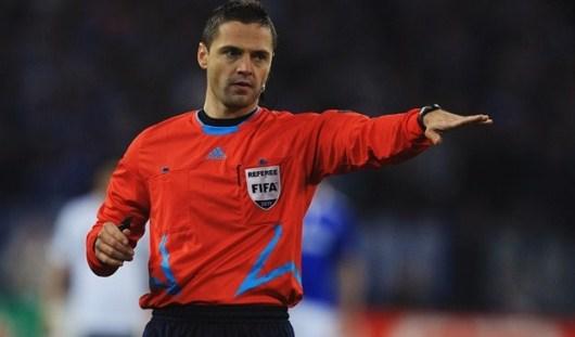 Арбитром на футбольный матч между Россией и Португалией назначен словенец