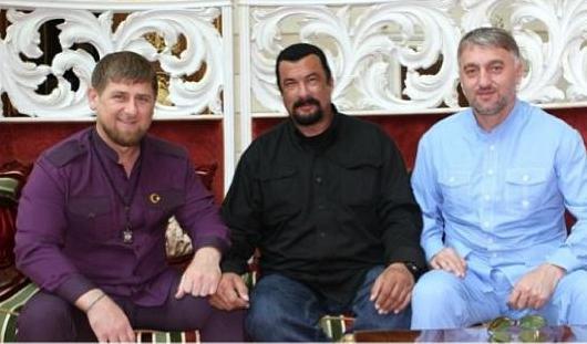 Рамзан Кадыров назвал Стивена Сигала «почти чеченцем»