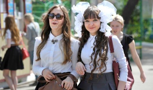 В Ижевске со школой попрощались 8 тысяч выпускников