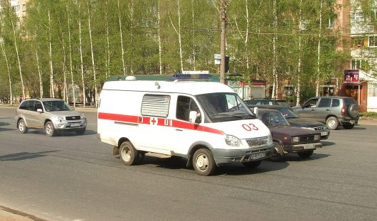 При столкновении двух машин в Удмуртии пострадали семь человек