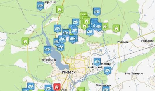 Жители Удмуртии смогут узнать о незаконном строительстве в пригородах Ижевска