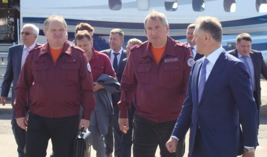 Дмитрий Рогозин приехал в Ижевск 30 мая