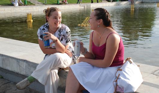 12 июня на Центральную площадь Ижевска пускать с алкоголем не будут