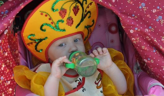 День защиты детей в Ижевске отметили парадом колясок