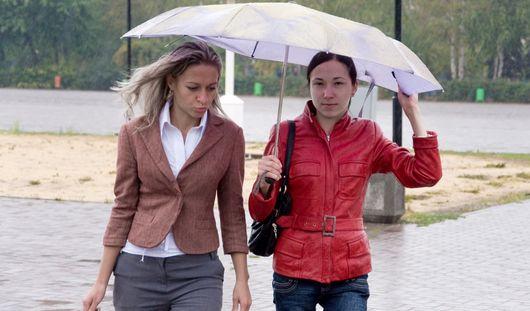 Всю неделю в Ижевске будут идти дожди с грозами