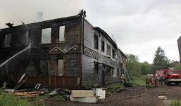 В Удмуртии при пожаре погиб 3-летний ребенок