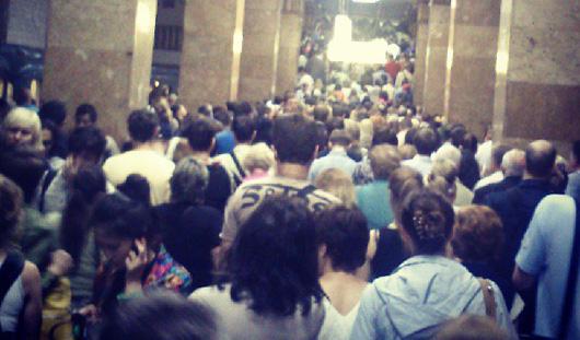 Советник сити-менеджера Ижевска оказался в эпицентре пожара в московском метро