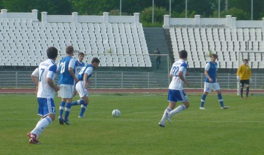 Игроки ФК «Зенит-Ижевск» сыграли вничью с «Газовиком» из Оренбурга