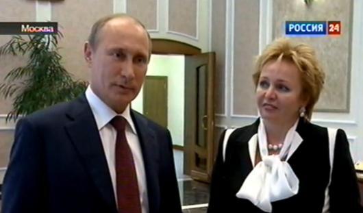 Президент России Владимир Путин объявил о разводе