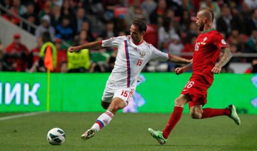 Российские футболисты проиграли Португалии в Лиссабоне
