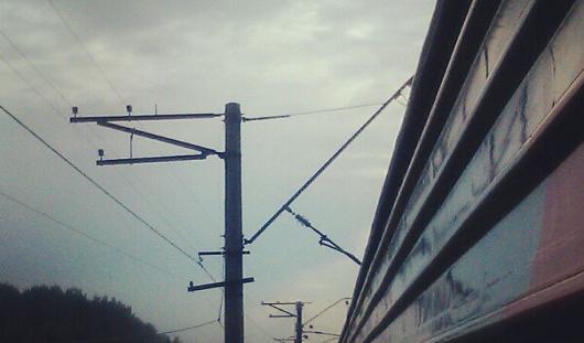 В Удмуртии из-за последствий грозы встали поезда