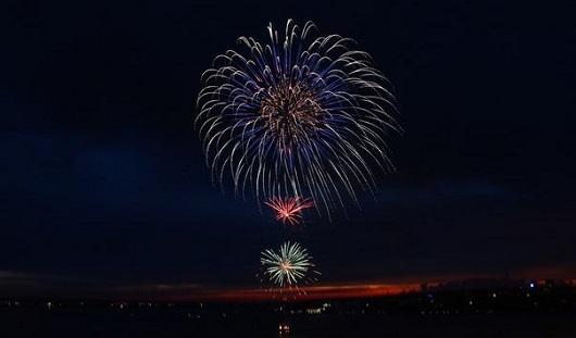 День города в Ижевске завершился праздничным салютом