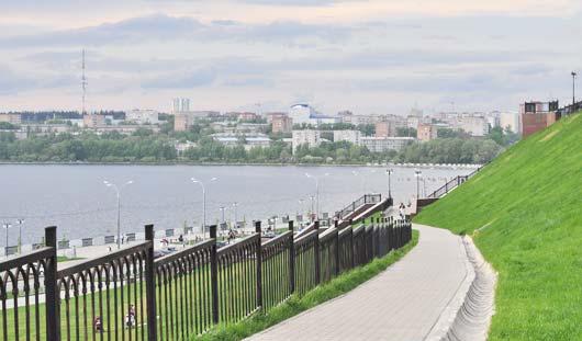 Набережную Ижевска объединят с парком Кирова