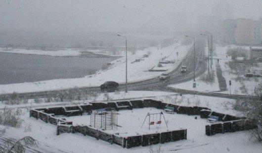 В Ямало-Ненецком автономном округе лето сменилось зимой