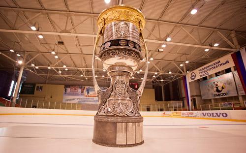В Ижевск прибыл главный приз Континентальной хоккейной лиги