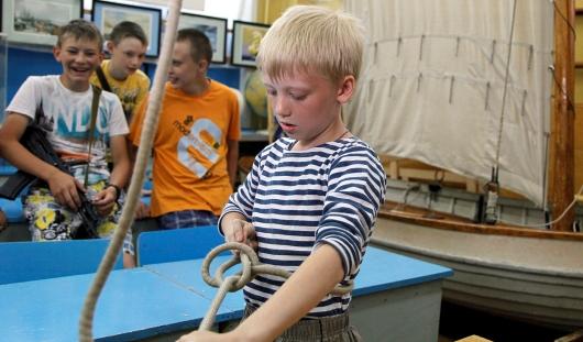 В 2014 году в Ижевске вновь заработает морской лагерь для юных патриотов