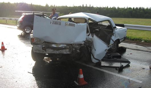 Смертельное ДТП в Удмуртии: столкнулись две вазовские легковушки